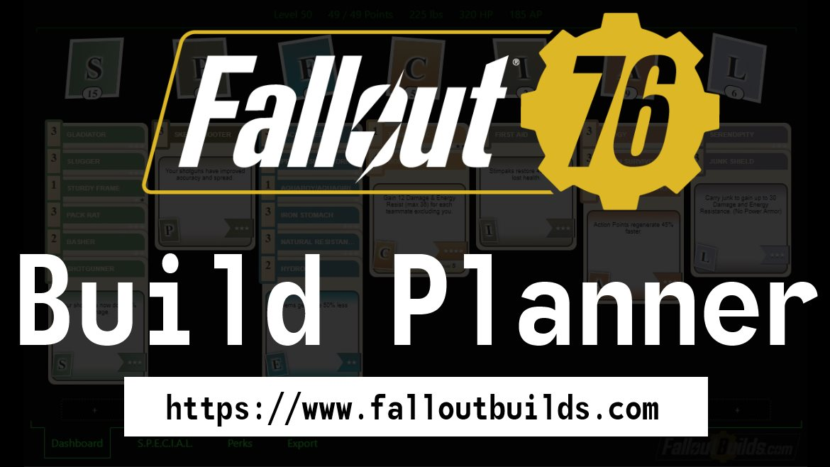 Fallout 76 Build Planner & Perk Calculator (All Perks